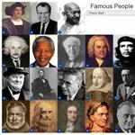 Zseniális, párperces játék: felismeritek a híres embereket?