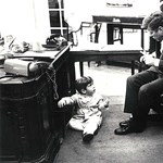 Kennedy, az elnök a kamerák kereszttüzében - Nagyítás-fotógaléria