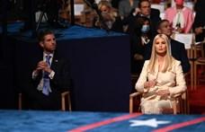 Donald Trump családja nem tudta vagy nem akarta maszkban végigülni az elnökjelölti vitát
