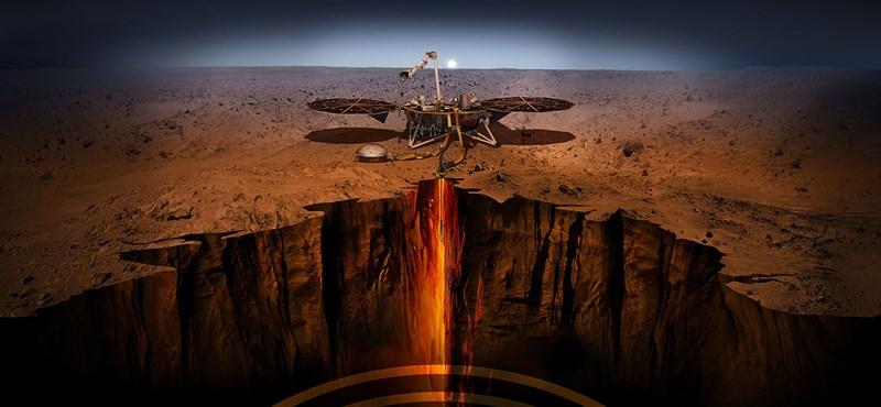 Nem mozdul a Marsra küldött robotvakond, de van egy ötlet a felélesztésére