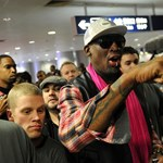 Megint a Kedves Vezető fiához utazott Rodman