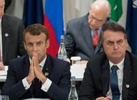 Macron őrültségnek nevezte a szíriai török hadműveleteket