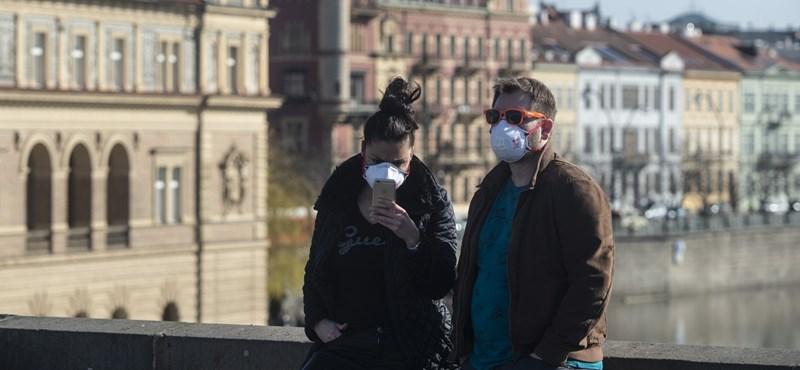 Csehországban stagnál a napi fertőzések száma