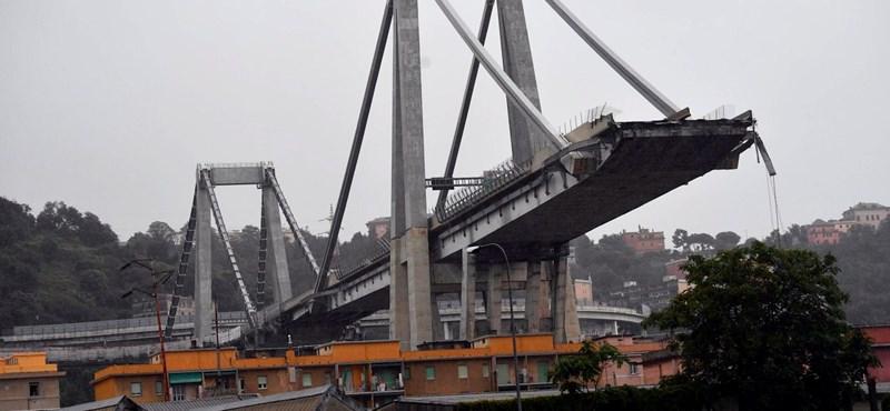Másfél év alatt pótolhatják a leomlott genovai hidat