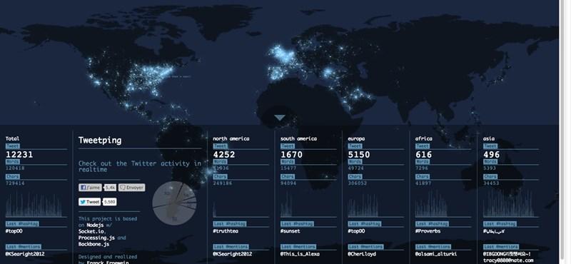 Látványos térkép arról, miről van szó a világban