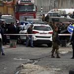 Fegyveres merénylet történt Jeruzsálemnél