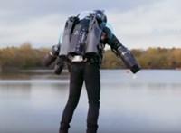 """Videón az új rekord: 136 km/h-val repült az """"Igazi Vasember"""""""
