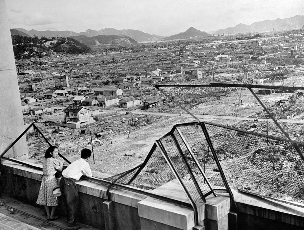 afp.1948. - Három évvel a bombázás után - atombomba 70, Nagaszaki, Nagasaki, Hirosima, Hiroshima