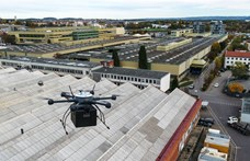 Ebben az autóalkatrész-gyárban már drónok repkednek az alkatrészekkel