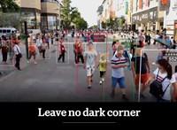 Nincs menekvés: Kínában már arcfelismerés sem kell, bárkit beazonosítanak a járásáról