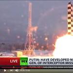 A földbe álltak az orosz kísérleti rakéták