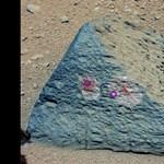 Fotó: Földön is fellelhető, focilabda méretű kőzetet talált a marsjáró