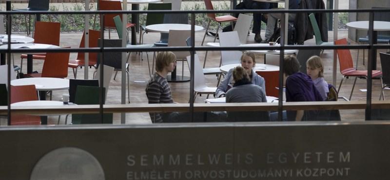 Egyre több a külföldi hallgató a Semmelweisen