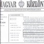 Édes anyanyelvük és a Magyar Közlöny