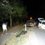 Halálos baleset történt Vácnál