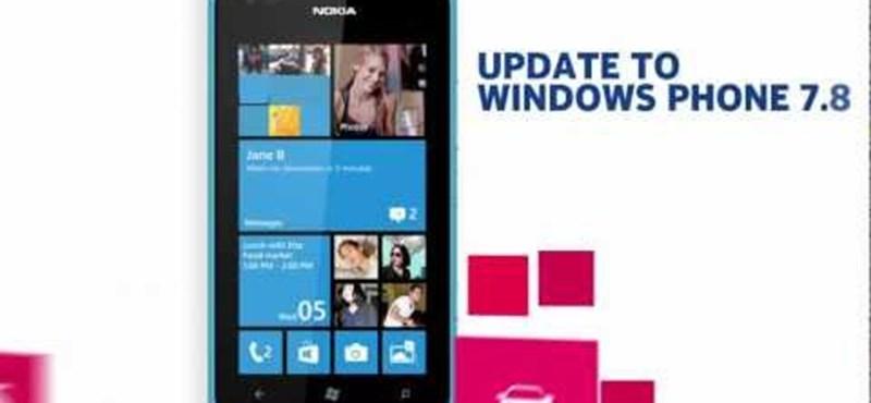 Megkezdte a Lumiák frissítését a Nokia