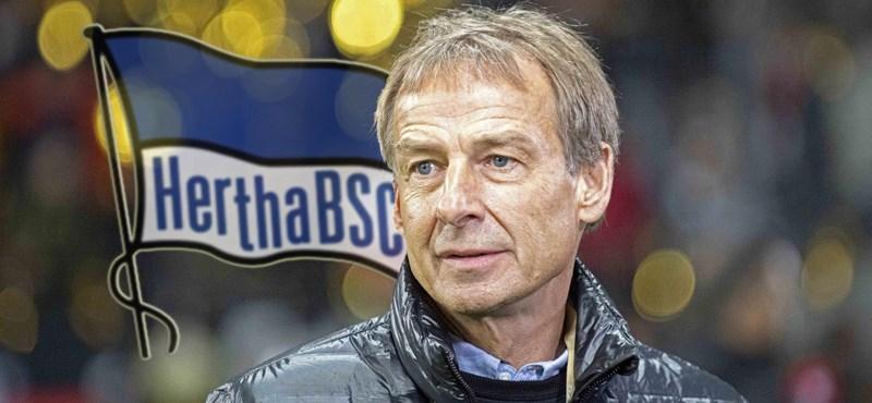 Sztáredzőt igazolt a Hertha