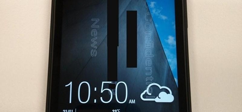 Nőnaptól árulják az új androidos csúcstelefont