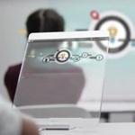 Így változtatják meg életünket a jövő interaktív üvegei és átlátszó táblagépei
