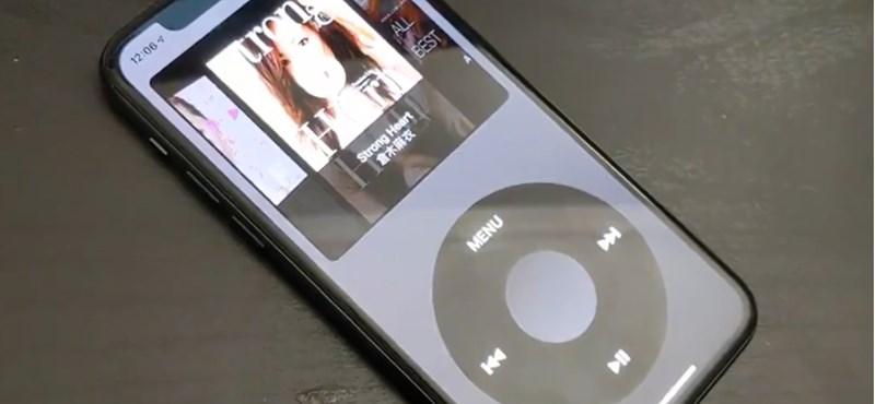 Valaki kitalálta, hogyan lehet az iPhone-ból iPod