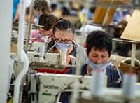Videó: A csődtől féltek, de a maszkgyártás megmentette őket