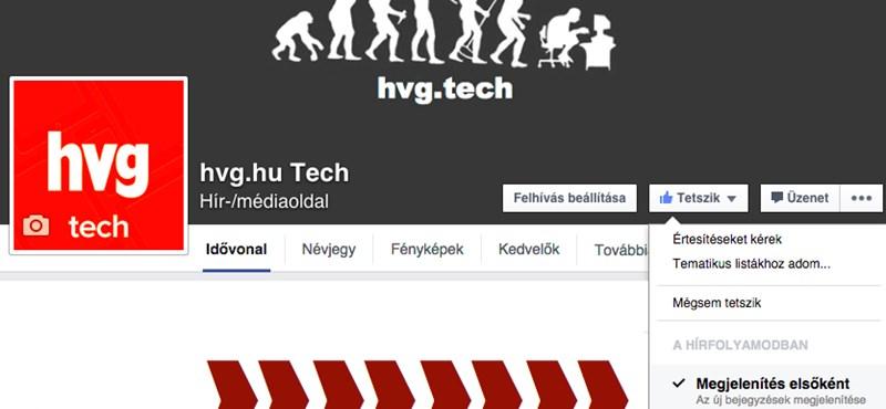 Imádni fogja a Facebook újítását: ezt kapcsolja be, ha elege van a káoszból az üzenőfalán