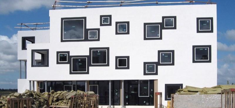 Egy bohém dán lakópark - egyszerű és ötletes