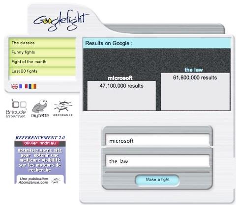 googlefight