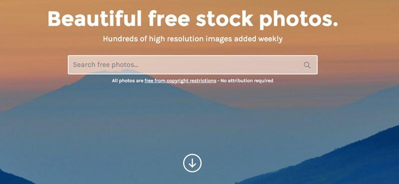 Legálisan, jogdíj nélkül tölthet le annyi képet, amennyit csak akar