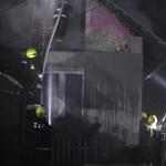 Kigyulladt és leégett egy lakóház a 18. kerületben