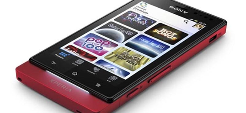 Lebegő képernyős telefont készített a Sony (videó)