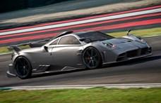 1,7 milliárd forintba kerül a Pagani legújabb, 827 lóerős autója