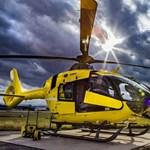 A nap videója: kiparkolni sem mindig egyszerű, főleg egy helikopterrel