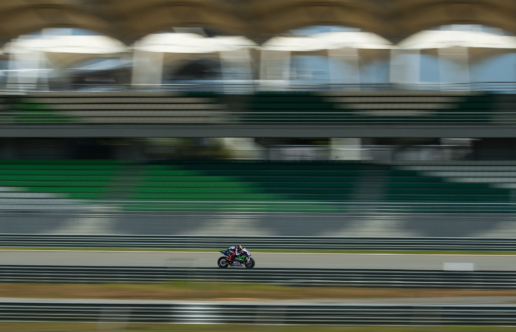 afp.15.02.25. - Sepang, Malajzia: a spanyol Jorge Lorenzo a MotoGP szabadedzésének harmadik napján - 7képei