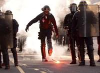 Ismét csatatér a párizsi utca