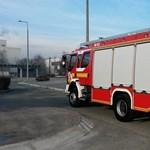 Sok munkát ad a tomboló szél a tűzoltóknak Pest megyében