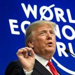 Erős Amerikát akar és kedvesebb sajtót – pfujoltak Trump beszéde alatt Davosban