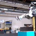 Ijesztő sebességgel szaltózik a Google legújabb robotkatonája – videó
