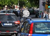 A BKK szerint ugyanaz okozza a fővárosi dugókat, mint ami a járvány előtt
