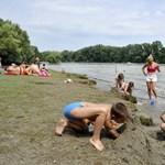 Hét szabadvízi strandnál találtak kifogásolnivalót