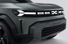 2022-ben jöhet a Dusternél is nagyobb SUV, a Dacia Bigster
