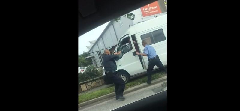Videó: Autós üldözés volt szerdán a Gyömrői úton