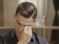 Sírva beszélt arról Ronaldo egy tv-műsorban, hogy soha nem ismerte az apját, mert az mindig részeg volt