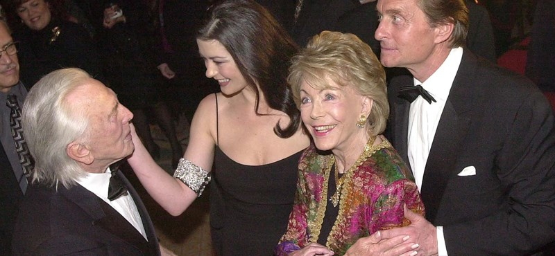 Kirk Douglas' widow, Anne Douglas, has passed away at the age of 102