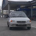 A nap fotója: Ismét egy suzukis és ismét a martfűi Lidlben parkolt érdekesen