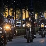 Jó cél érdekében bőgtek ma a motorok Budapesten