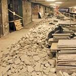 Így néznek ki most a 3-as metró lecsupaszított állomásai – fotók