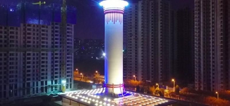 Óriási ötlet: egy hatalmas toronnyal szívnák ki a szmogot a nagyvárosi levegőből