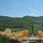 Koreai fenyegetés: Amerika újabb rakétakísérlettel tesztel