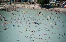Egy nap alatt hat embert mentettek ki a vízirendőrök a Balatonból